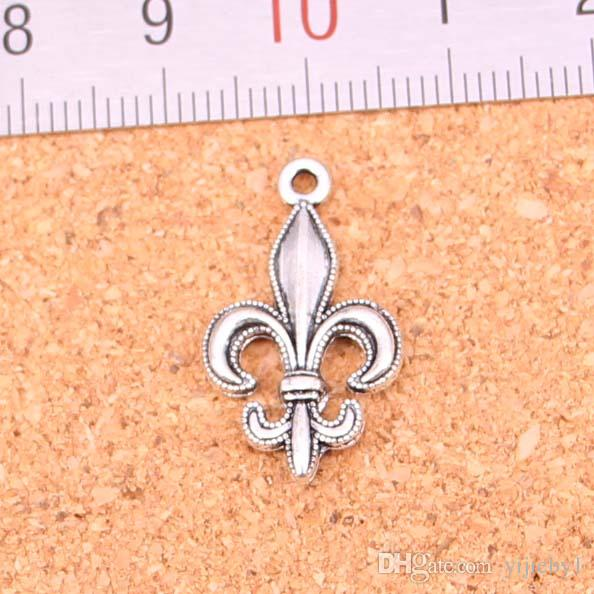 2018 antique silver charms fleur de lis pendant fit bracelets 2018 antique silver charms fleur de lis pendant fit bracelets necklace diy metal jewelry making 2412mm from yijieby1 1507 dhgate aloadofball Gallery