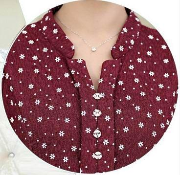 Women's long-sleeved T-shirt Slim Spring loaded mother loaded bottoming shirt shirt