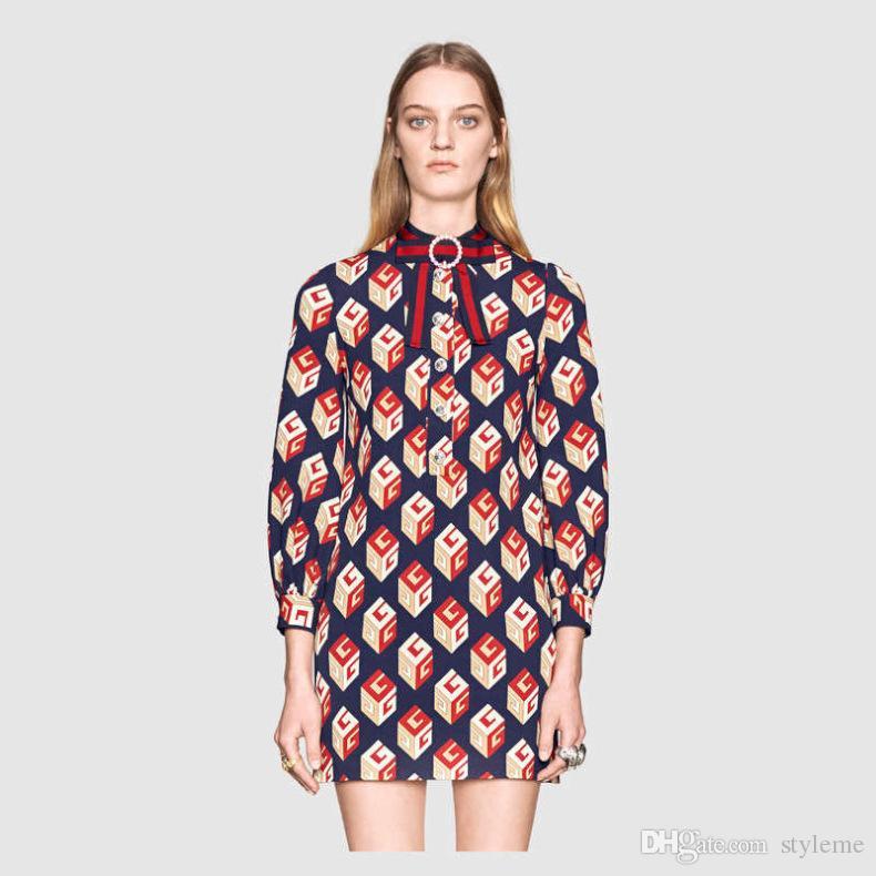 Stand collar long sleeve shirt dress