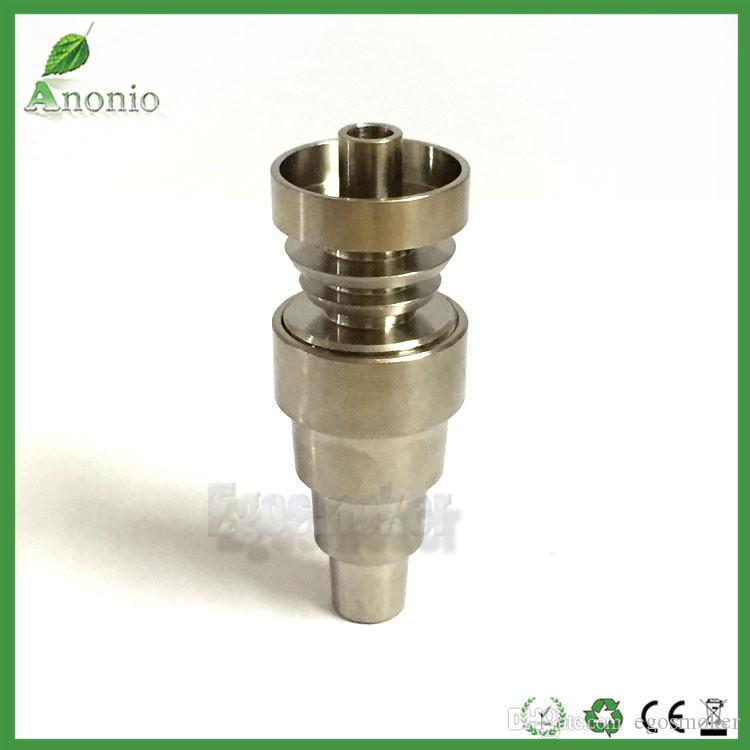 GR2 Titanium Nails 6 in1 4in1 2in1 With 10mm 14mm 19mm Joints Domeless Universal Titanium Nail Bong Oil Rig Titanium Nail