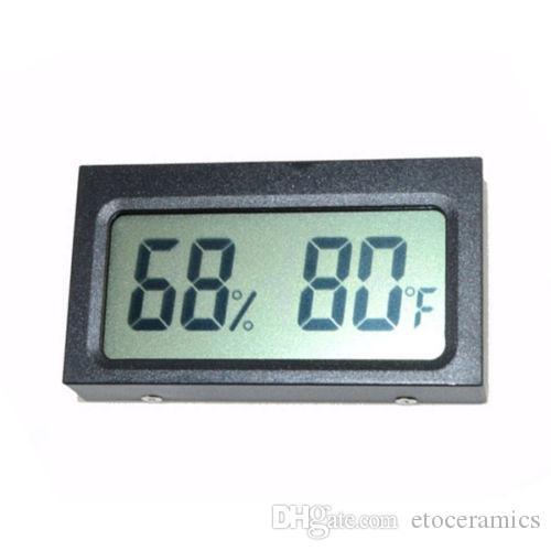 미니 디지털 LCD 자동차 / 실외 온도계 습도계 TH05 온도계 DHL 페덱스 재고 빠른 습도계