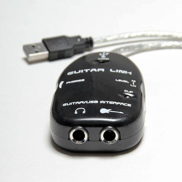 تسجيل جهاز كمبيوتر جديد / MAC تسجيل مع غيتار برنامج تشغيل القرص المضغوط إلى كابل وصلة USB جودة عالية