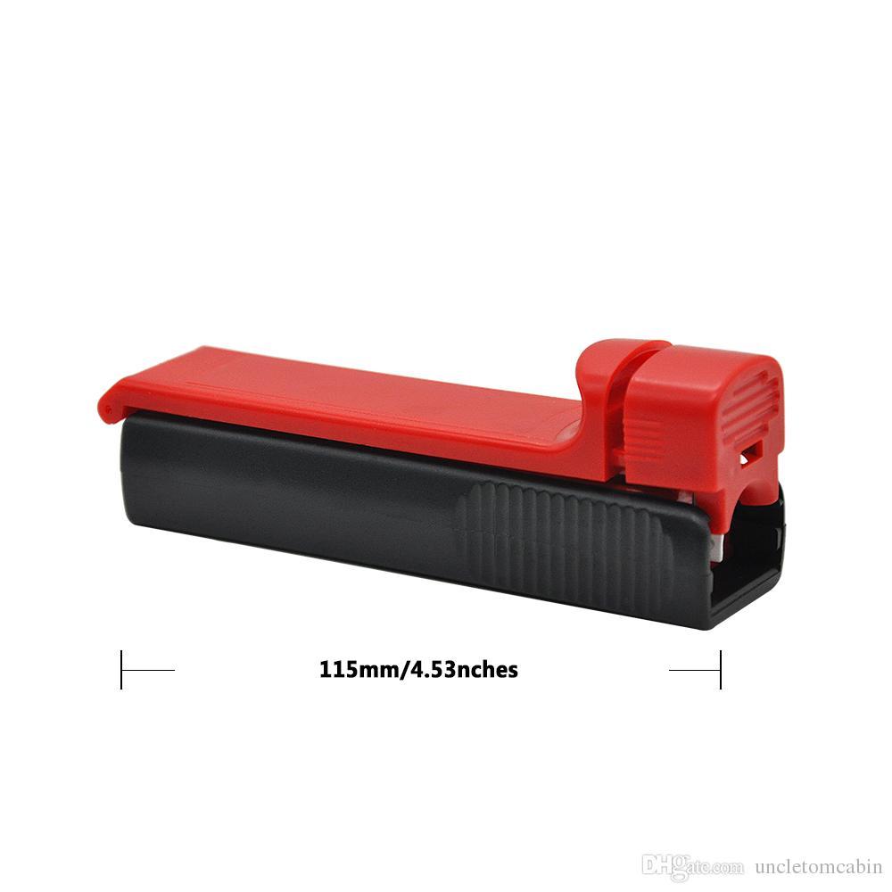 Máquina de rolamento do cigarro manual de plástico do cigarro do cigarro do tubo de enchimento do tubo de enchimento do tubo, dos injetores de fumo da tubulação do metal do Muller da mão fornecedor
