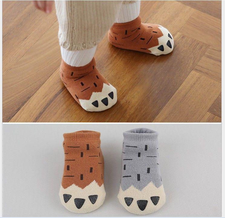 Toddler Baby Winter Socks Kids Boys Girls Thicken Warm Socks