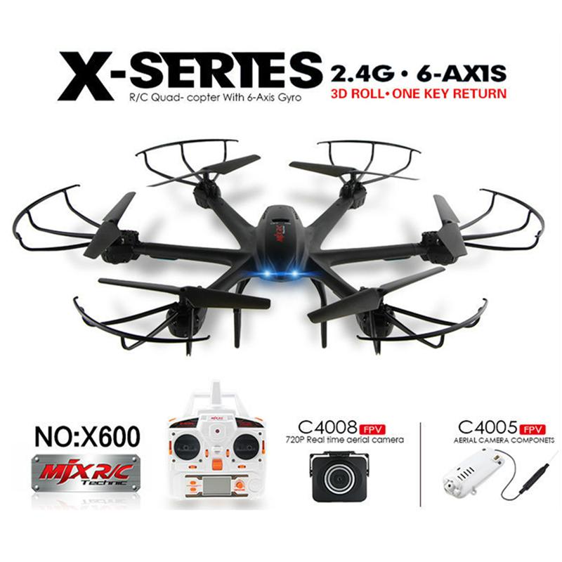Best Quality Drone With Wifi Fpv Hd Camera Mjx X600 X Series 24g 6axis Rc Hexacopter Quadcopter Ufo Can Choose Upgraded C4015 Or C4018 At Cheap