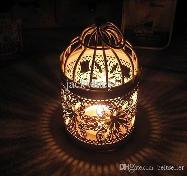 2015 New Arrival Romantic Wedding Favors Iron Lantern Candle Holder for Wedding Centerpieces Table Decorations Supplies