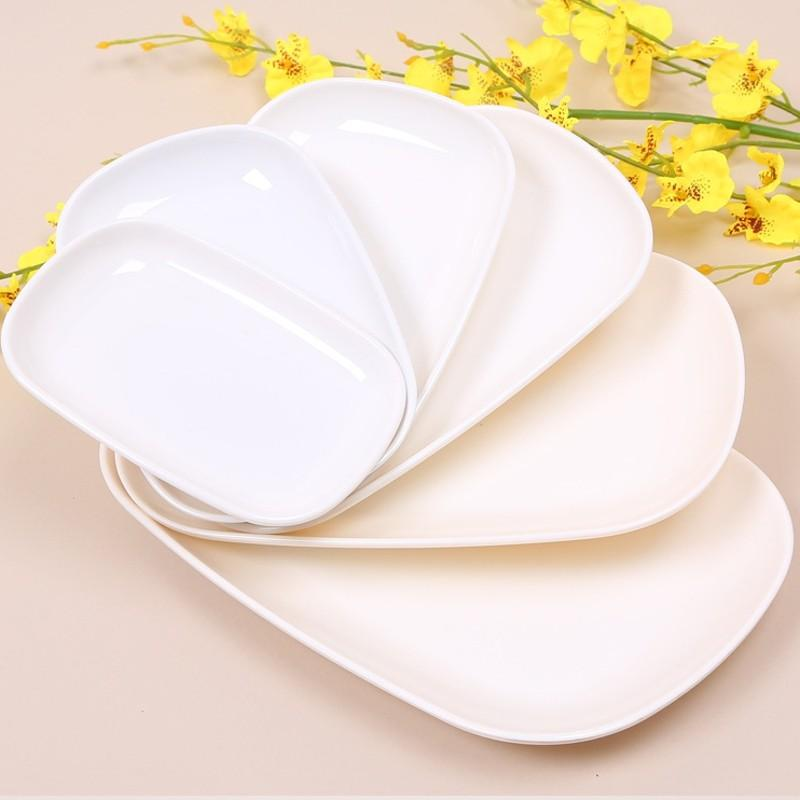 finest rectangle plates melamine dishes dinner utensils kitchen accessories restaurant food holder buffet smorgasbord uuuuuu with melamine plates - Melamine Dishes