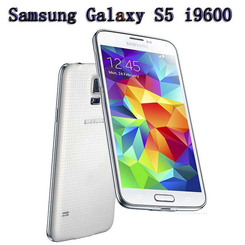 Original débloqué Refurbished Samsung Galaxy S5 i9600 SM-G900 Smart Phone 5.1