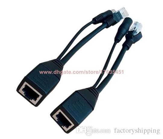 Power over Ethernet PoE Adapter Injector + Splitter Kit Fedex / DHL