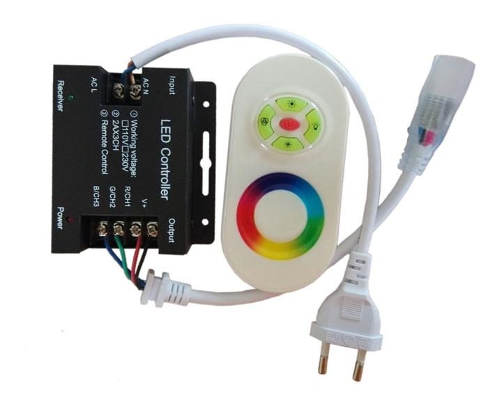 Großhandel Freies Verschiffen Ac 110 220v Wireless Led Controller Rf ...