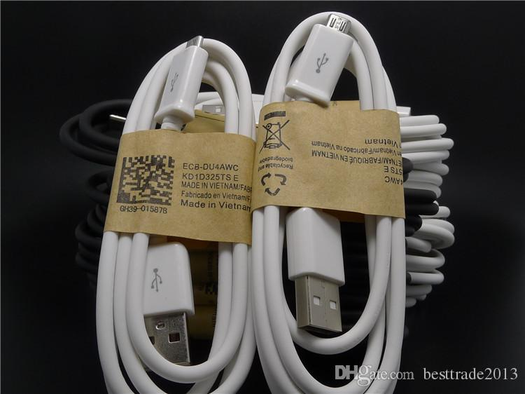 Cavo micro USB Cavo di ricarica telefono cellulare V8 5P Cavo di ricarica sincronizzazione dati 100CM 2.0 telefoni Samsung Galaxy Android