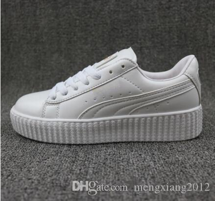 2017 New Charity Fenty Suede Cleated Creeper Womens Fenty Creepers By  Rihanna Shoes Casual Shoes SIZE 35 44 Formal Shoes Shoe Shops From  Mengxiang2012 b0c71156f