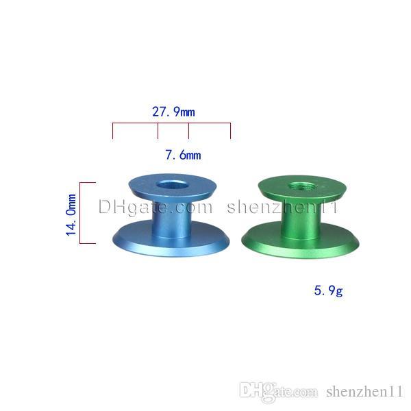 e cig clearomizer металлическая основа E-сигареты держатель красочные E Cig стенд 510 резьба винт для распылителя 2015 для cloutank m4 rda FJ154