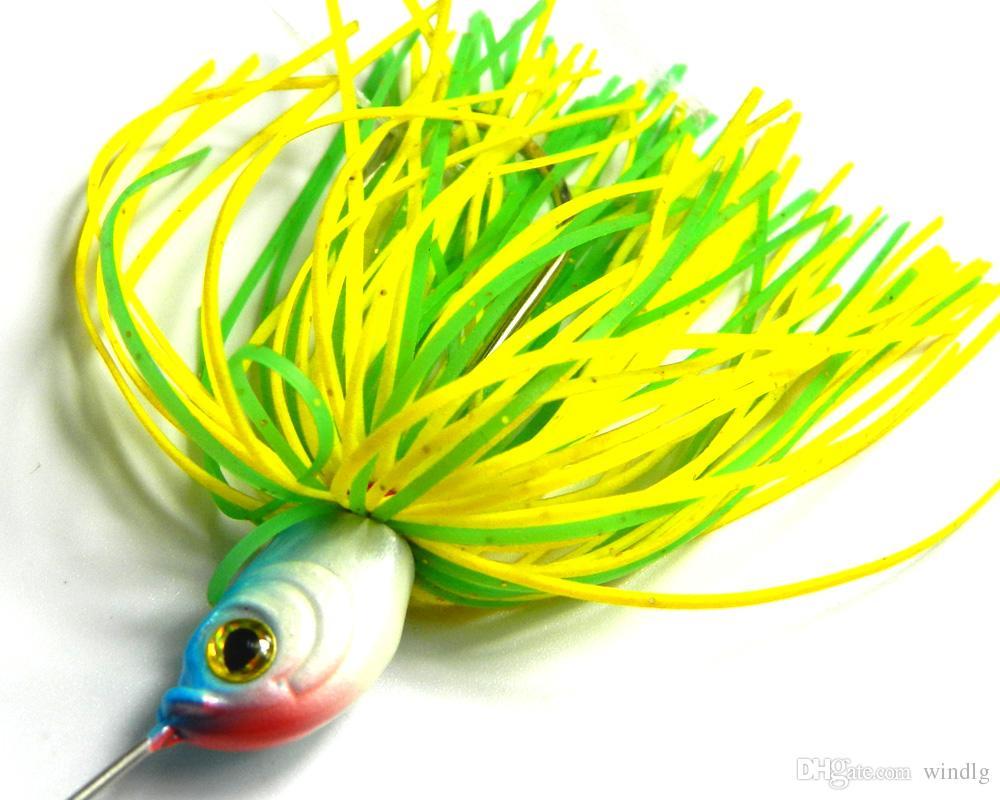 Hengjia / 19.8g / 0,7 once filatore esca esca pesca cucchiai Shallow acqua dolce Acqua Bass glaucomi ciprinidi ARTIFICIALI SB008