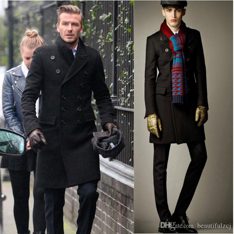Discount Mens Winter Pea Coats Sale | 2017 Mens Winter Pea Coats ...