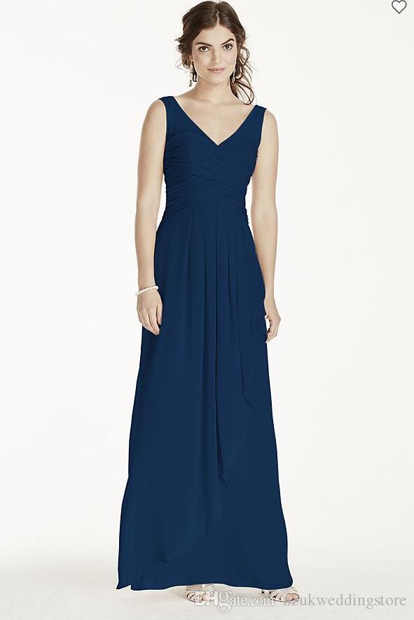 hot Extra Length Illusion Tank Chiffon Dress W10841 Sheath Wedding Party Dress Evening Dress Formal Dresses