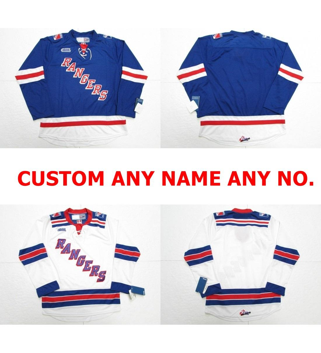 Online Cheap Wholesale 2017 Customize Ohl Kitchener Rangers White ...