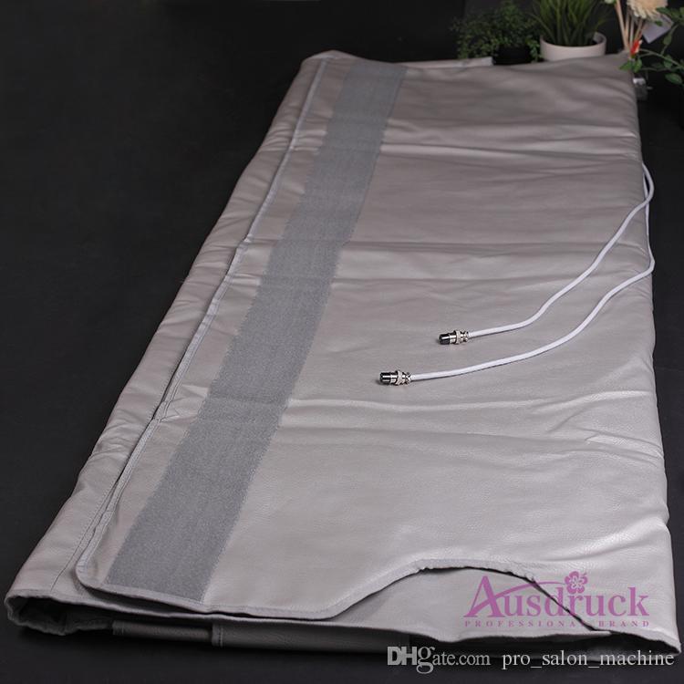 Waterproof Great 2 zone FIR Far Infrared Sauna Blanket Weight Loss Body Slimming Blanket Infrared Ray Heat machine SPA salon use