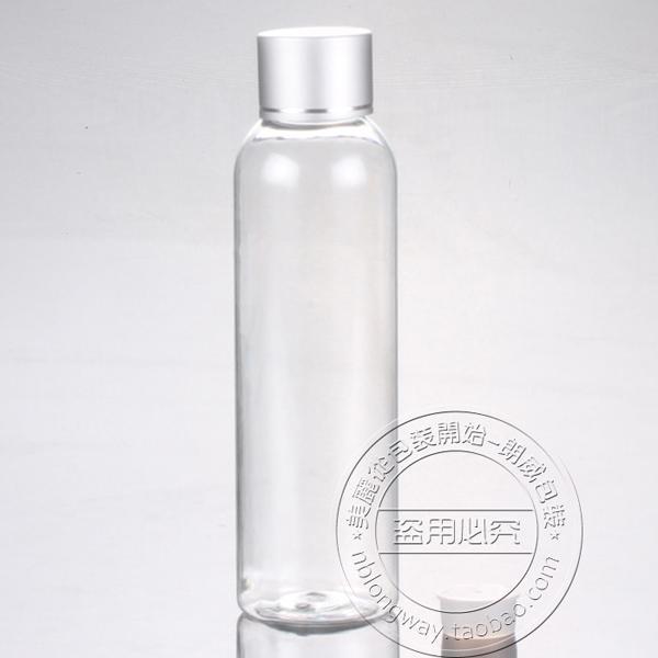 30f8b4bc5570 free shipping Capacity 150ml 200pcs/lot Ordinary transparent foil round  shoulder bottle cap, pump bottle,pet bottle