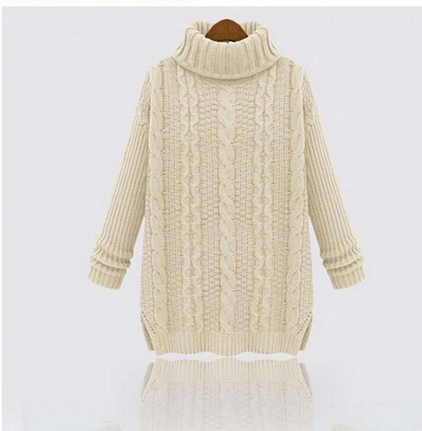 Hot!2015 Fashion Warm Winter Pullover Women Sweater Women Vintage ...