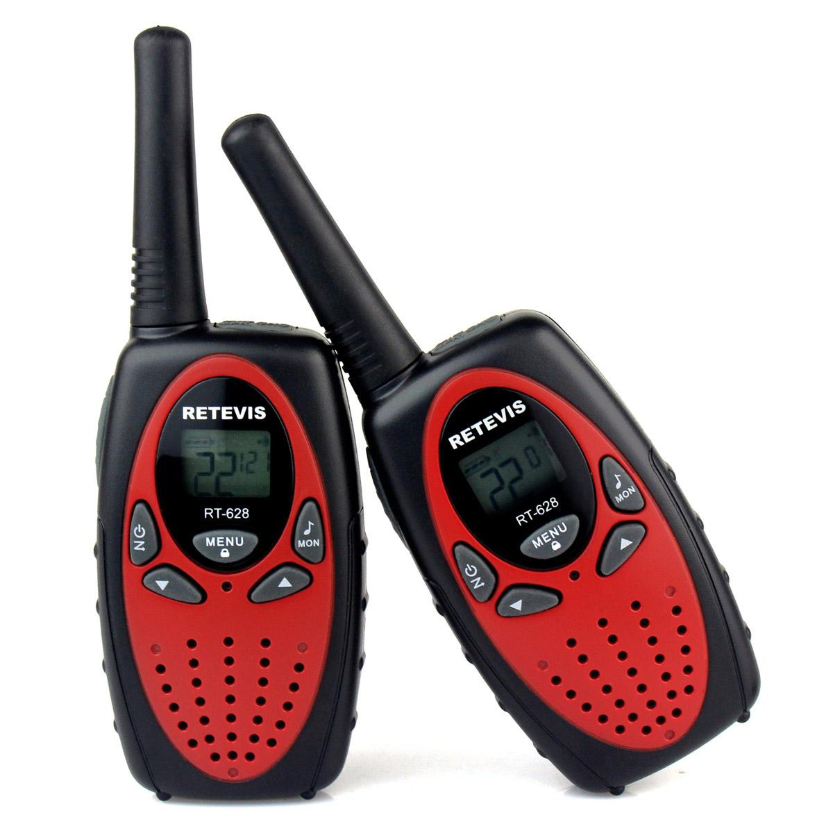 retevis rt628 new red walkie talkie uhf usa frequency 462 467mhz 22ch portable two way. Black Bedroom Furniture Sets. Home Design Ideas