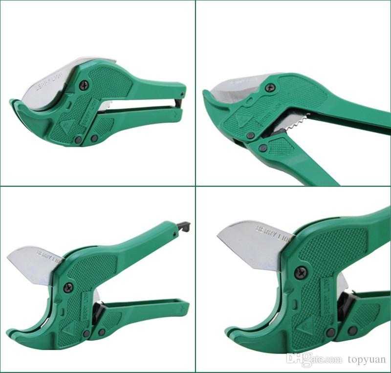 42mm en plastique tuyau de coupe PVC / PU / PP / PE Tuyau Ciseaux en alliage d'aluminium