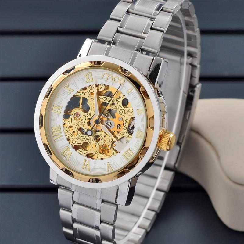 Купить мужские механические наручные часы Winner из Китая