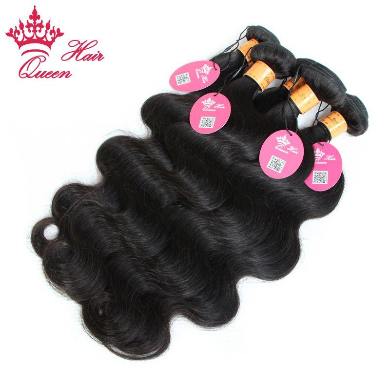 Reine cheveux indien vague de corps / vierge indienne extension de cheveux humains 12