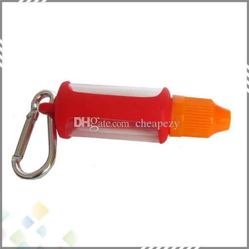 Жидкость бутылка мягкий E Cig чехол силиконовый защитный чехол Чехол красочные мягкие резиновые кожи протектор для E Cig бутылки DHL бесплатно