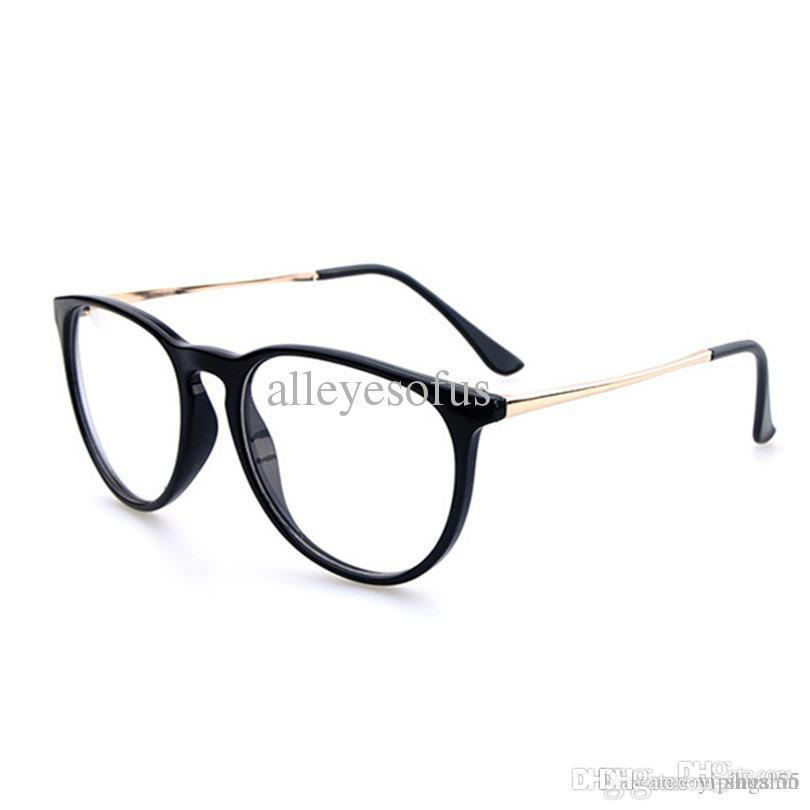 e1aeddd1cf 2015 Cat Eye Prescription Glasses New Designer Oculos De Grau Print ...