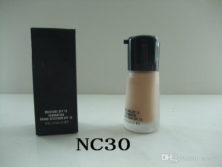 Trucco Mineralizzare la crema liquida della fondazione del fondazione di umidità 30ml Top Quality DHL Spedizione