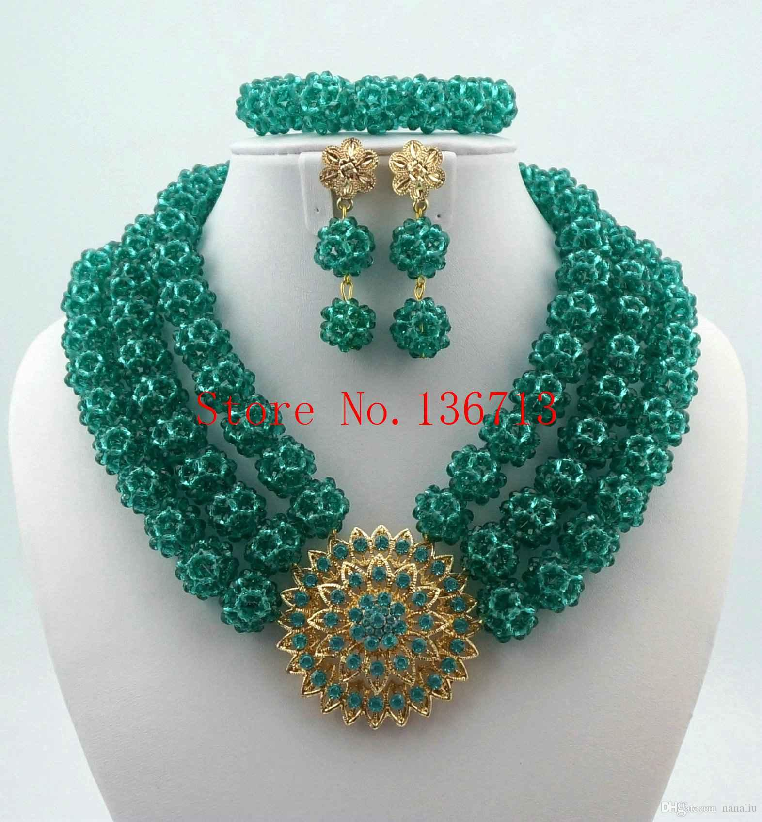 for gold bracelets wedding bridal china women beads product necklaces jewellery african from crystal fashion earrings jewelry statement set discount nigerian