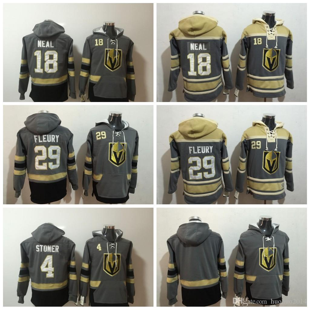 2019  29 Marc Andre Fleury Hockey Hoodies Vegas Golden Knights 18 James  Neal 4 Clayton Stoner Blank Grey Hoodie Jerseys Hoodied All Stich Hoody From  ... 7a5fecd5c