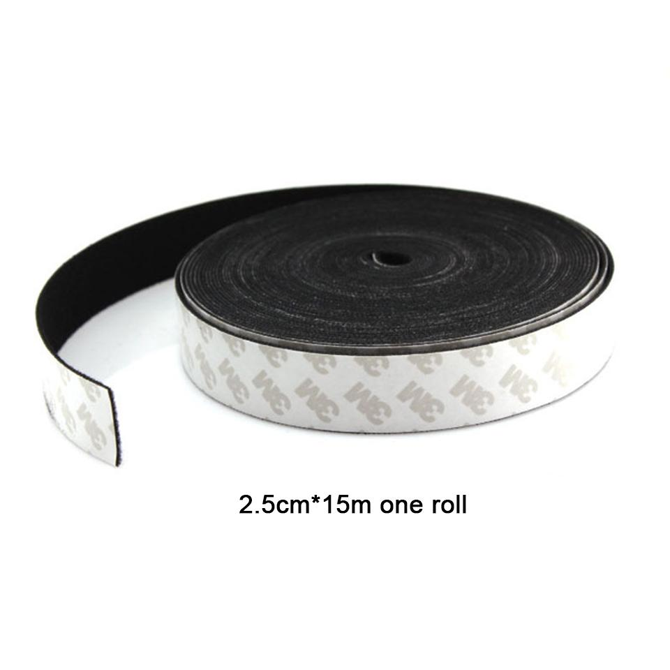 Free shipping black window guide tape felt to duce or eliminate scratches  in window film tinting 15m *2 5cm full roll whole sale