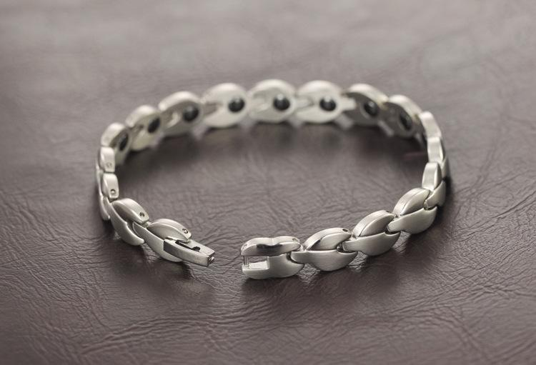 Women Accessories Stainless Steel Titanium Health Bracelet Wholesale Europe And the United States New Jewelry With New Listing