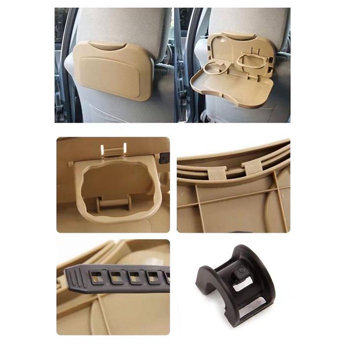 Supporto portabottiglie pieghevole sedile posteriore auto