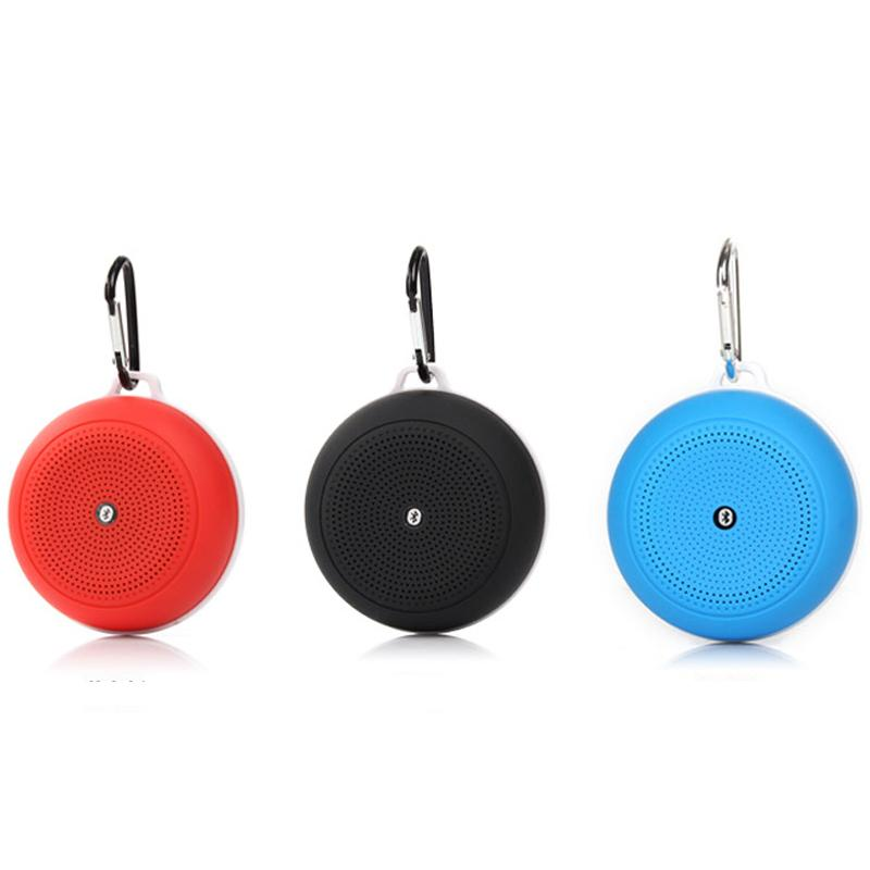Q3 Bluetooth Speakers TF Card Slot Built-in MIC Hand Free Mini Wireless Portable Outdoor Speaker With Gift Box DHL Free MIS096