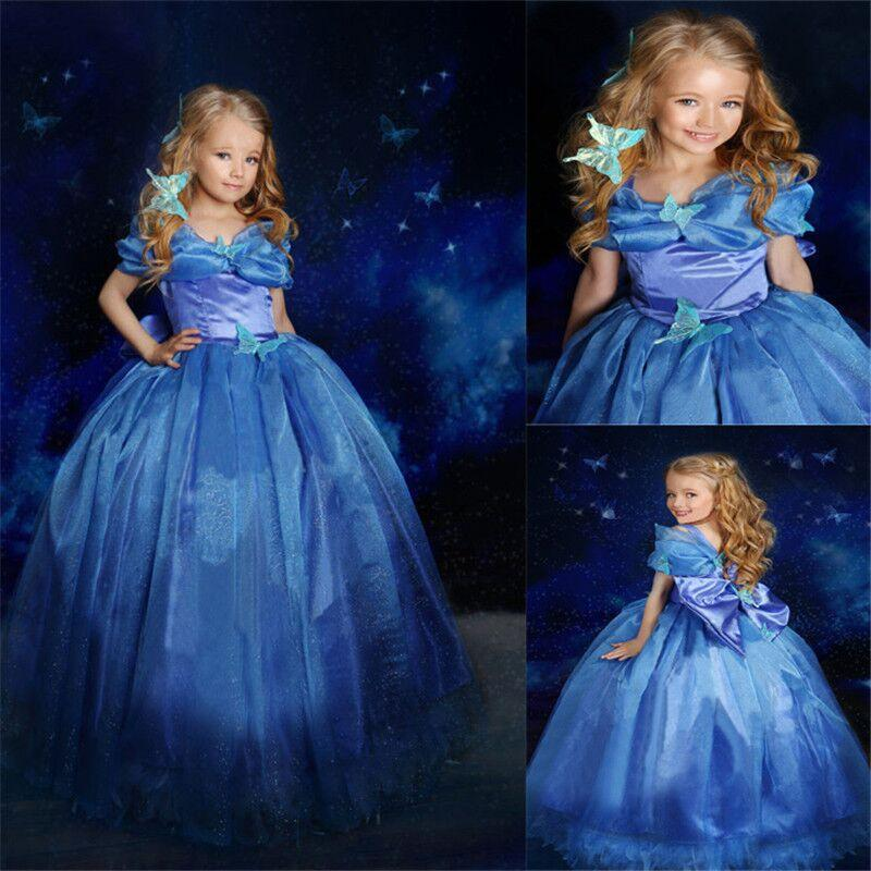 New Nip Disney Baby Girls Halloween Cinderella Costume 6: 2019 Fairy Dress New Girls Cinderella Elsa Princess Dress