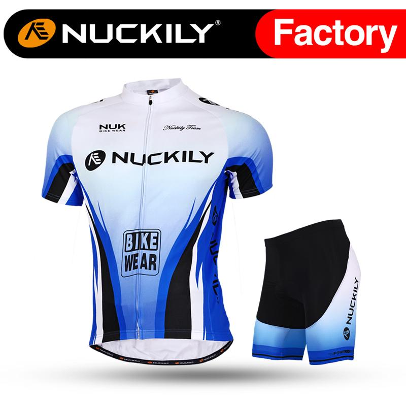d5815e476 Nuckily High Stretch C Couple Set Cycling Jersey Suit Wholesale with ...