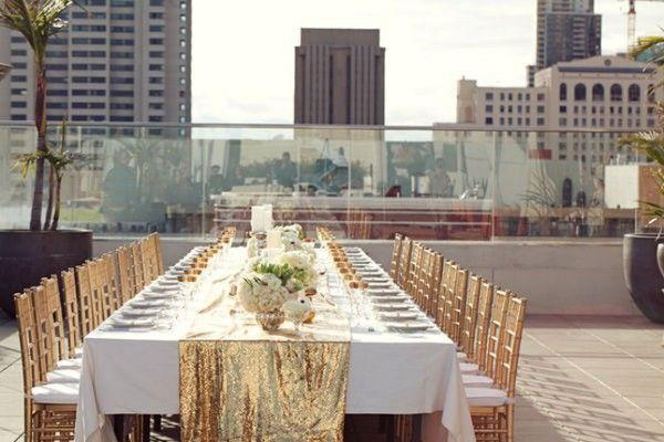 Gold Table Runners Wedding Runner Table Decorations 2016 Sequin Dusty Rose  Cream Silver Wholesale Supply Glittery Wedding Party Accessories Quilt Table  ... - Gold Table Runners Wedding Runner Table Decorations 2016 Sequin