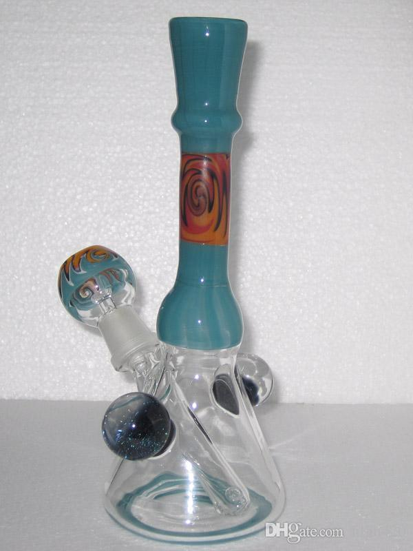 Цветные стеклянные установки DAB концентрат масляные буфы стеклянные бонги Mini Bong Установочные установки нефтяные DAB Стеклянная горелка для горелки для горелки Bubbler