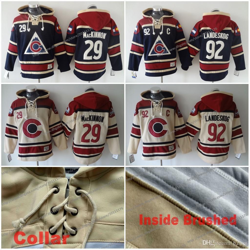 Colorado Avalanche Hockey Hoodies  92 Gabriel Landeskog  27 Nathan  Mackinnon Third Steel Stitched Jersey Hoodie C Patch UK 2019 From B2bcn eeb13d3b0ee