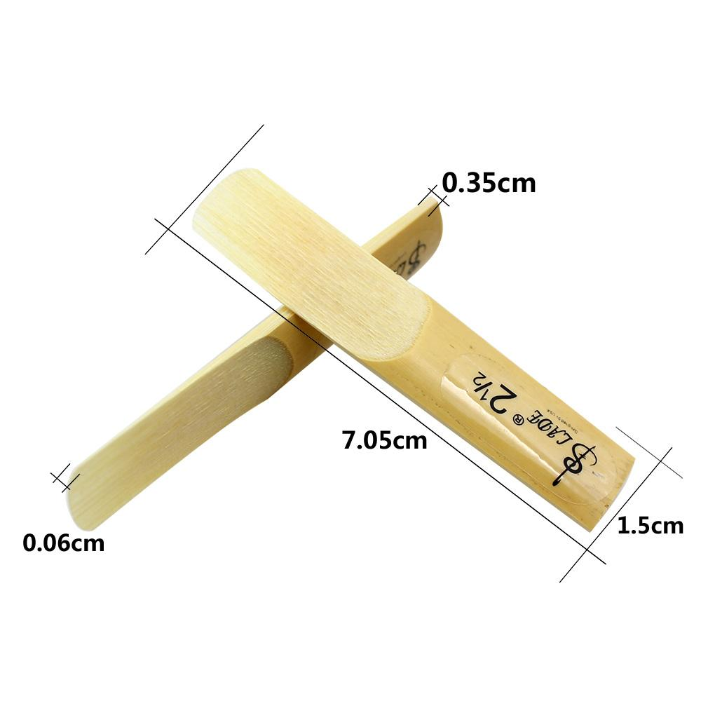 Lade Tenore bE Saxophone Reed Strength 2.5 2-1 / 2 Reed Bamboo ALTA QUALITÀ ordine $ 18no track