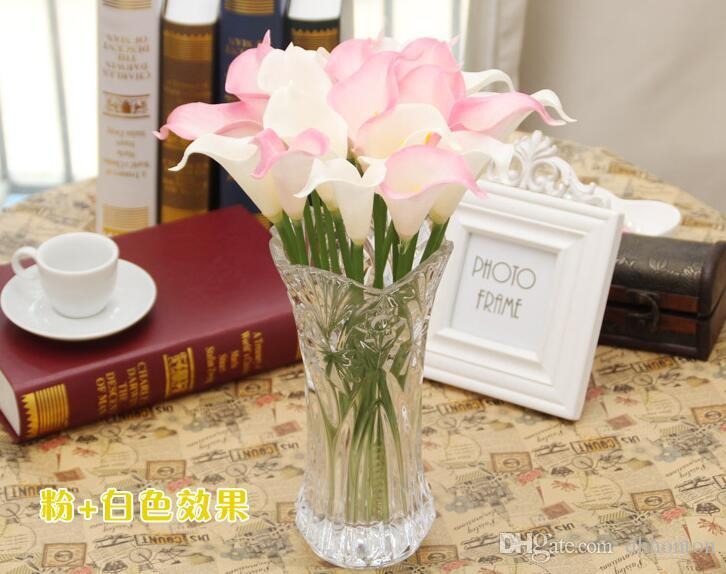 Calla Lily Bridal Wedding Bouquet Bride flowers PU Real Touch flower artificial flowers home party decorations HP007