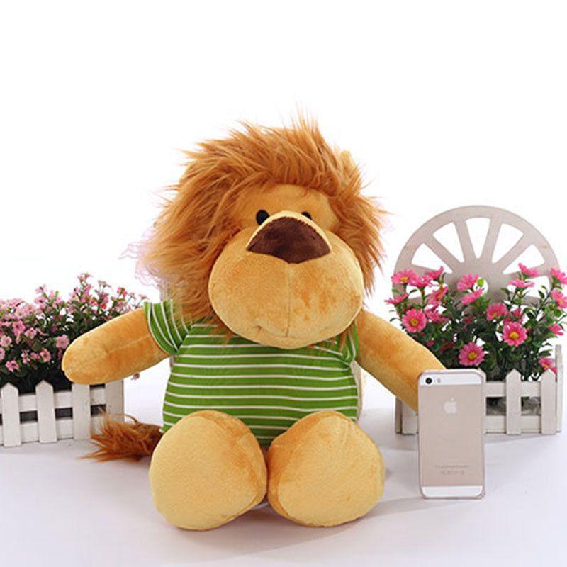 2019 Promotion 50cm Stuffed Animals Big Lion Plush Dolls Soft Toys