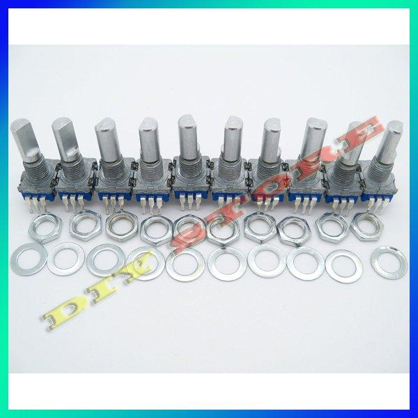 Wholesale 20pcs/lot 12mm Rotary Encoder Switch W. Keyswitch HQ New+free shipping-10000002