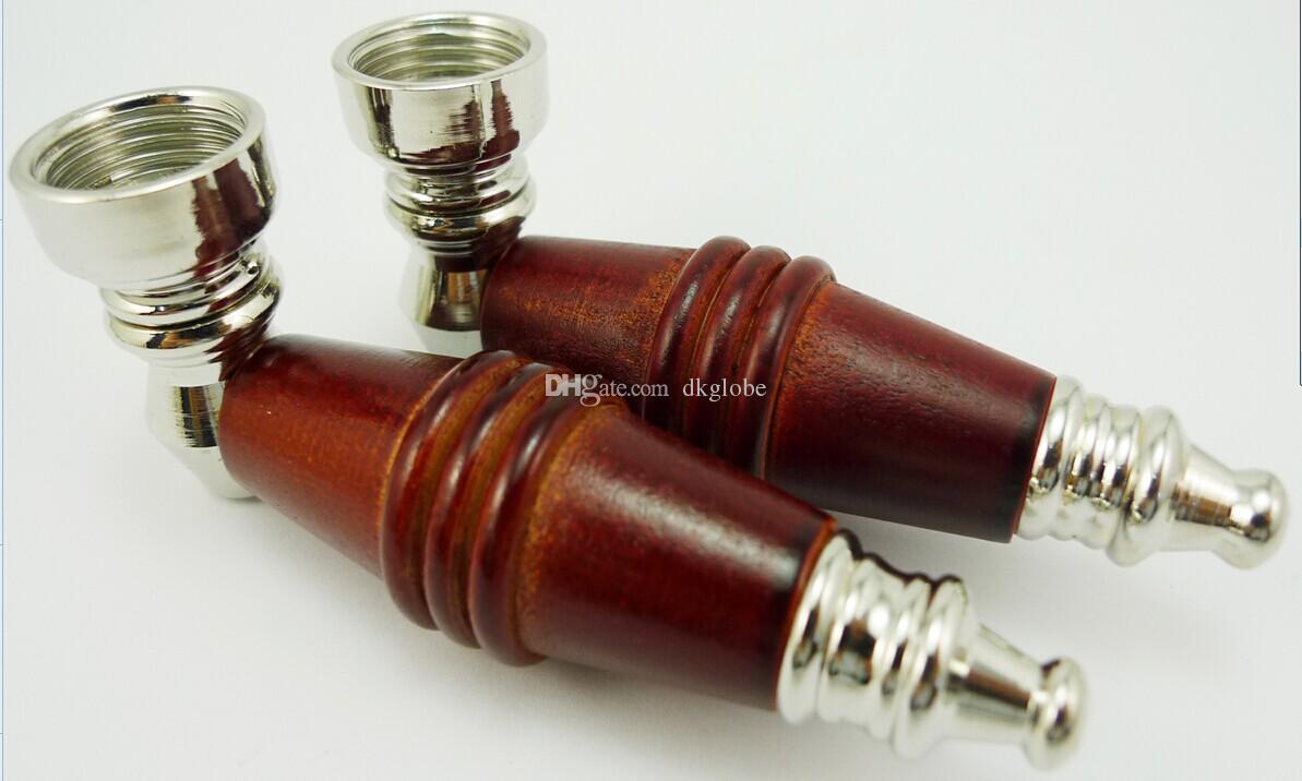 5szt / partia Drewniane rury do palenia Drewniane Rury drewniane Mieszaj kolory tańsze rury rur
