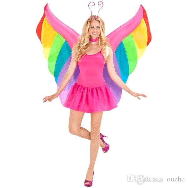 High quality of the wings of the angel inflatable clothing adult Halloween costumes butterfly inflatable costume makeup free shi