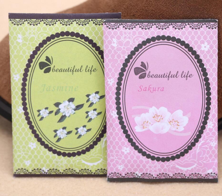 /Pack Aromatherapy Natural Smell Incense Wardrobe Sachet Air Fresh Refreshing Scent Bag Perfume Vanilla Lavender Rose Lily
