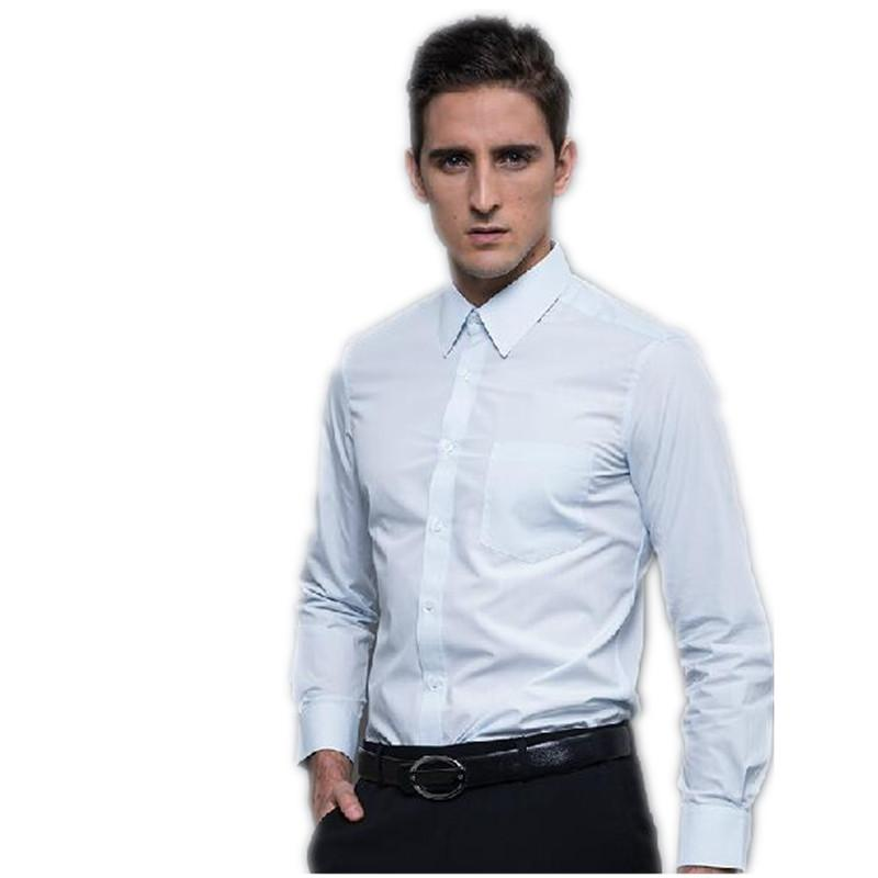 High Quality Shirt For Young Man Long Sleeve Slim Fit Man'S Formal Wear  White Fashion Men'S Business Casual Shirts Groom To Be Shirts Grooms Shirts  From ...